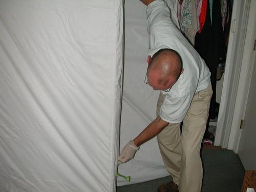 bed bug removal prep