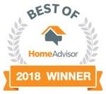 HomeAdvisor Best of Award